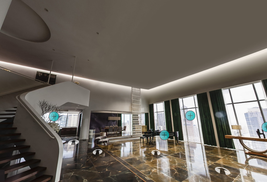 The virtual tour of Christian Grey39s penthouse
