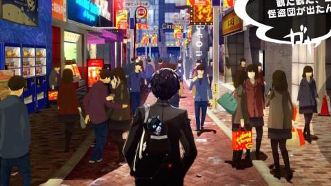 persona 5 road screenshot